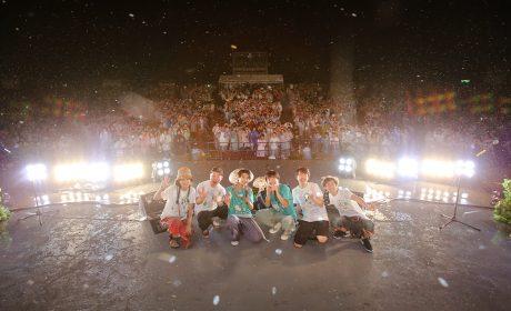 櫻花蘑菇首次野音演唱會 風雨中與2500粉絲同歡